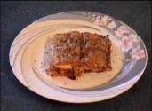 Lady Kook&#039;s Meat Lasagna